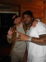 Pitbull with Jim Jones