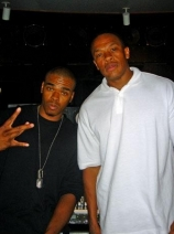 Bishop Lamont w/ Dr. Dre