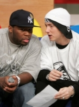 Eminem with 50 Cents