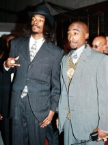 Tupac with Snoop Dogg